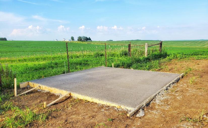 Garden Shed Foundation